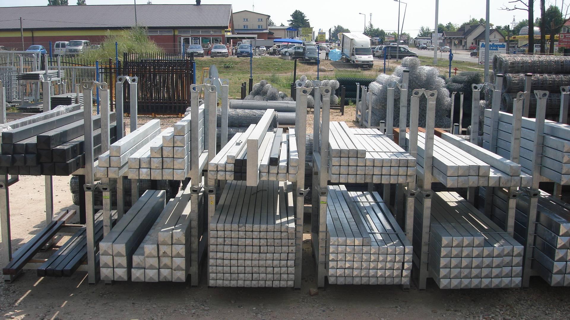Zaawansowane Słupki ogrodzeniowe do bram i furtek - GROT - Materiały ogrodzeniowe LQ44